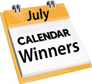 OVFL Calendar winners